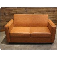 倍斯特定制简约现代风复古实木沙发创意主题餐厅KTV酒吧沙发