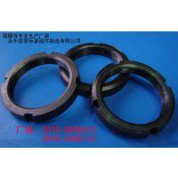 厂家现货高强度发黑8.8级圆螺母|发货及时
