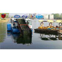 河道水草打捞船 全自动水草收割机械 水草清除船价格