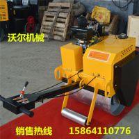 手扶压实机 700小型单钢轮柴油压路机现货供应