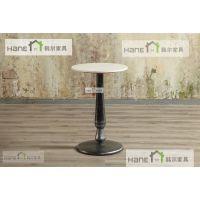 上海韩尔品牌家具 休闲咖啡桌椅 西餐厅家具 大理石餐桌椅