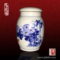 陶瓷米罐定做厂家 专业定制手绘陶瓷罐子定做厂家