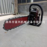 手提式汽油起树机 链条式挖树快的汽油起树机