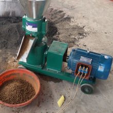 花生秧饲料颗粒机 玉米秸秆制粒机 饲养户用饲料加工颗粒机