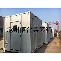 沧州厂家加工定制非标集装箱 各类设备集装箱 按图加工技术精湛