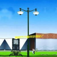 厂家直销户外灯庭院灯 景观 欧式铁艺 3米 小区 双头庭院灯