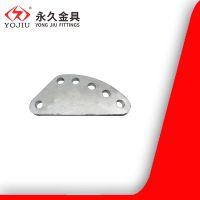调整板DB-10国标 六眼板 连接拉线防护环铁附件 永久金具