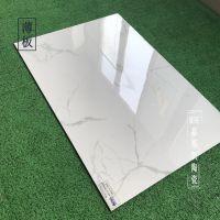 薄板瓷砖600x900爵士白大规格干挂全拋釉内外背景墙砖5.5mm