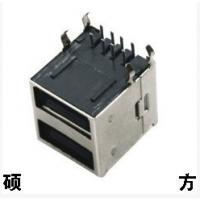 硕方 Dip全包型USB母插座USB-328