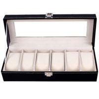 6位手表盒天窗展示盒柜台专用机械手表盒子批发定制