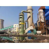 玻璃钢锅炉脱硫塔 砖厂专用脱硫除尘设备,厂家定做直销
