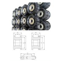 Safe, Stable and Excellent Quality Crane Wheel