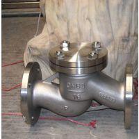 H41W-40P 升降式不锈钢法兰止回阀 DN15 不锈钢止回阀生产厂家 永嘉精拓阀门厂