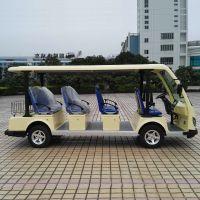 供应珠海大丰和DFH-YL11A11座豪华电动观光车 四轮电动游览车