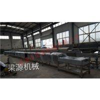 大型鱼豆腐成型设备 鱼豆腐机蒸线生产加工成套设备