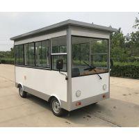 电动四轮早餐车小吃房车多功能移动小吃车流动餐车美食车鑫盛