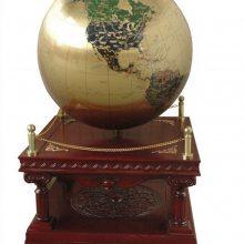 企业乔迁礼品,公司大厅落地摆件,红木纯铜地球仪工艺品,地球仪批发厂家