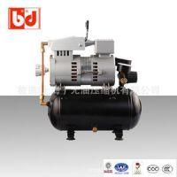 进口无油静音空压机 打气泵 小型静音无油空压机 彼迪直供