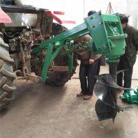 台州波浪护栏立柱打桩机 富兴电线杆挖坑机 拖拉机挖坑机价格