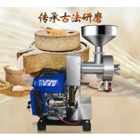 供应小型五谷杂粮汽油磨粉机那里有卖无需插电的汽油磨粉机