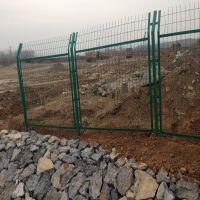 聚光厂家供应草绿色框架低碳钢丝护栏网