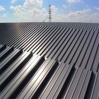 浙江时宇批发铝镁锰金属屋面板 高立边直立锁边系统 私人订制设计