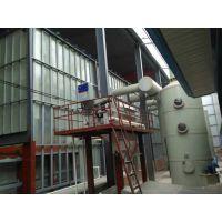 河北顺泰环保设备热镀锌生产线根据客户要求定做酸雾净化塔