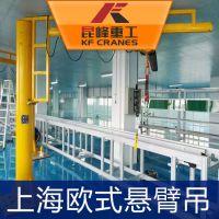 昆峰 移动式悬臂吊 移动式旋壁厂家 悬臂起重机报价