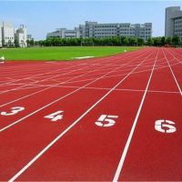 杭州施工学校运动跑道体育馆混合型塑胶跑道聚氨酯跑道材料供应