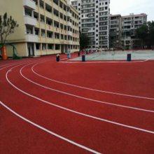 重庆市运动跑道大量现货 奥博游乐场塑胶跑道大量现货
