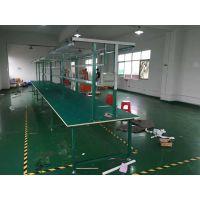 锋易盛供应防静电生产线 车间流水线操作台 工业专用平板线 木板工作台