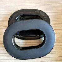 定制各种皮耳套 高周波热压成型皮耳套 可填充硅油的硅胶耳套