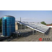 包头10吨太阳能热水工程,包头供水量10吨太阳能酒店宾馆学校洗浴热水