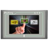 中达优控触摸屏PLC一体机 工业人机界面4.3寸 触摸屏E204LV8厂家直销,买十送一