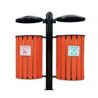 优境环卫(在线咨询),菏泽钢木垃圾桶,钢木垃圾桶厂家