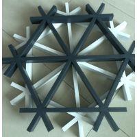 铝格栅吊顶 三角形铝格栅造型 铝格栅厂家
