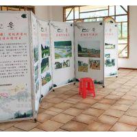 书画活动展板 美术移动展架 画廊作品展架 校园摄影展背景墙