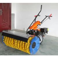 济宁玖越园林机械厂家直销冬季汽油撒布机手推式扫雪机除雪车雪滚雪铲清雪机 驱动马力:6.5 HP