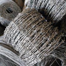 渭南防攀爬热镀锌铁丝刺绳厂家-草场隔离双股刺绳现货特价