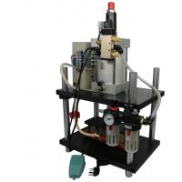 气动烙印机烙木可烫印商标名片鞋底皮革塑料周转箱烫金机,模具定制