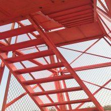 为什么选用建筑爬梯施工安全爬梯搭设简单合理通达提供详情