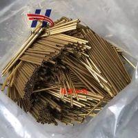 铧宁精密黄铜管 外径2mm内径1mm精密环保H65黄铜管