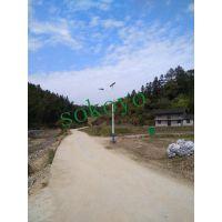 江苏开元供应贵州6米二体灯太阳能路灯案例|二体灯价格