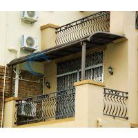 津南别墅阳台露台棚耐力板窗棚遮雨棚遮阳蓬厂家定做安装