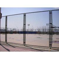 体育场围栏网 羽毛球隔离网 浸塑立柱球场防撞网