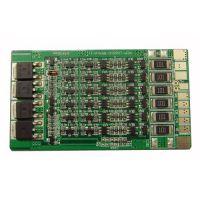 6串21V电动工具PCB锂电池保护线路板 持续20A同口BMS