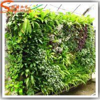 广州仿真植物墙厂家 垂直绿化装饰 仿真草墙 背景墙价格