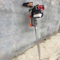 挖树苗起树机 带土坨切割树根起树机 佳鑫合金链条式式移苗机
