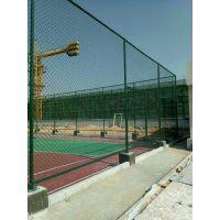 定做运动体育场篮球场学校操场围网 pvc勾花护栏围网 浸塑足球场护网