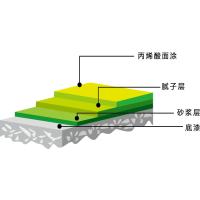 贵阳 丙烯酸篮球场一平方多少钱 优选煌盛 水性材料 安全环保
